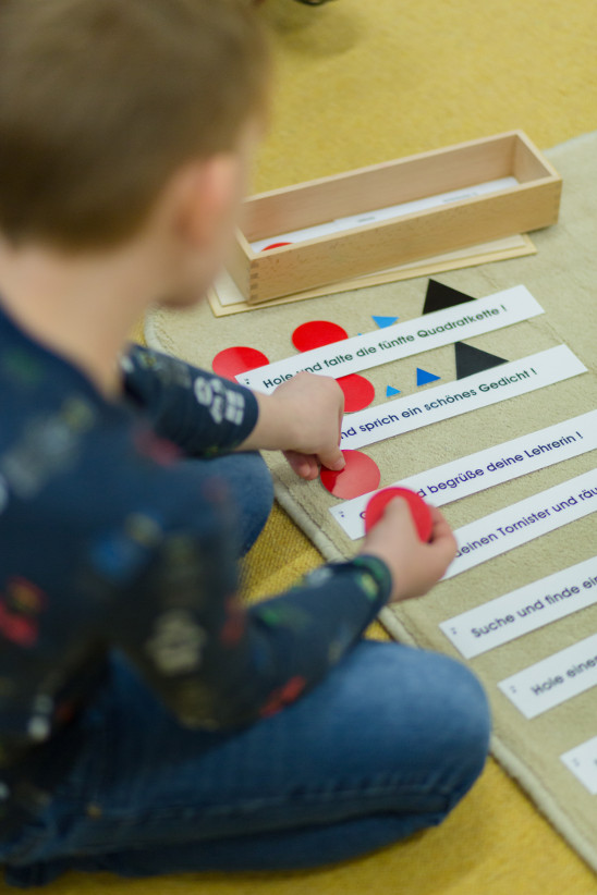 Montessori Material Deutsch