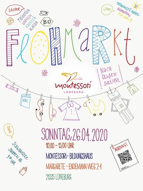 Poster Flohmarkt Frühjahr 2020