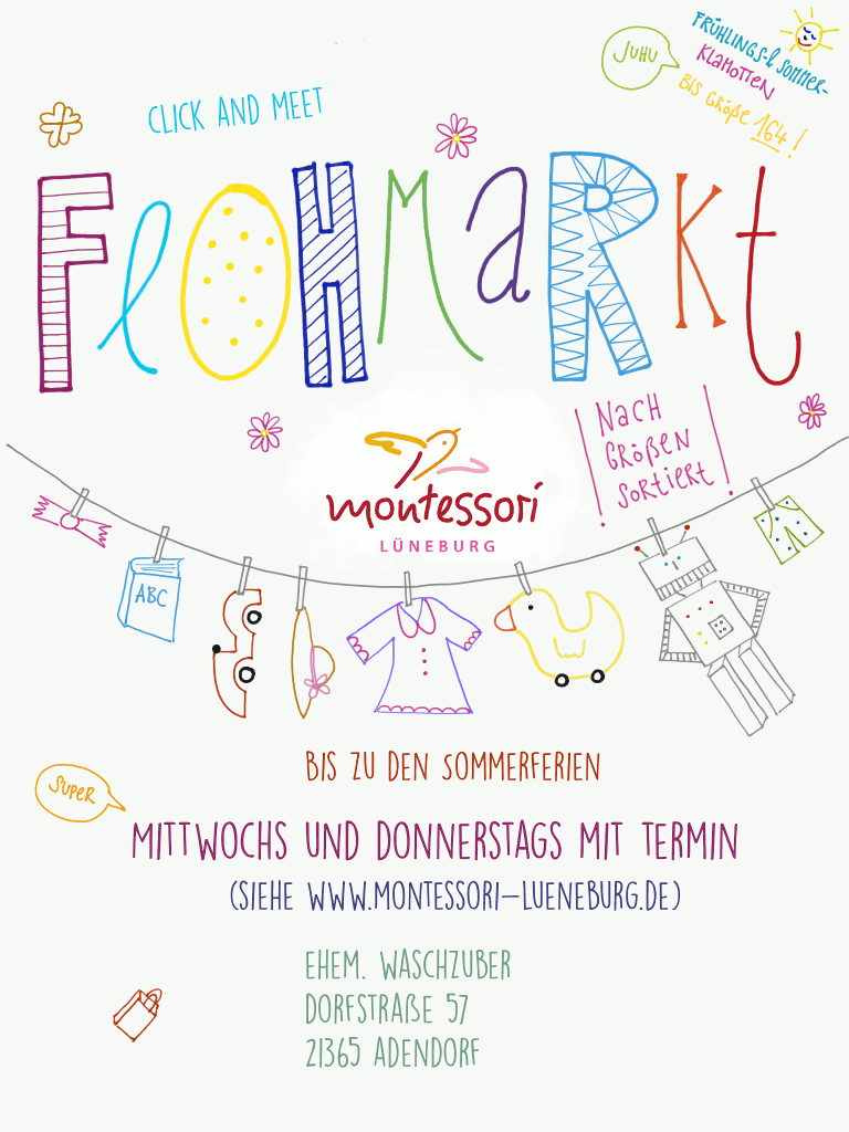Flohmarkt Plakat