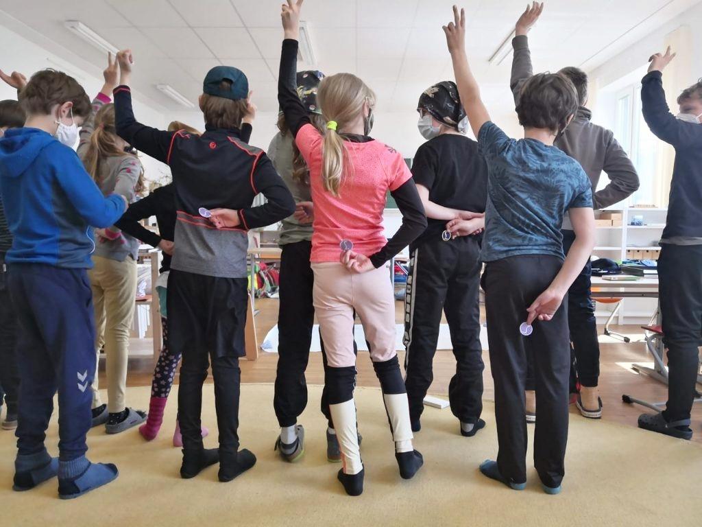 Lauftag in der Montessori Schule